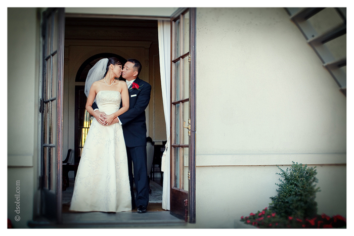 Wedding at Vancouver venue, Hycroft Manor