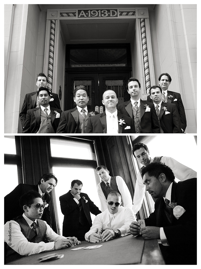 The guys at the Vancouver Club