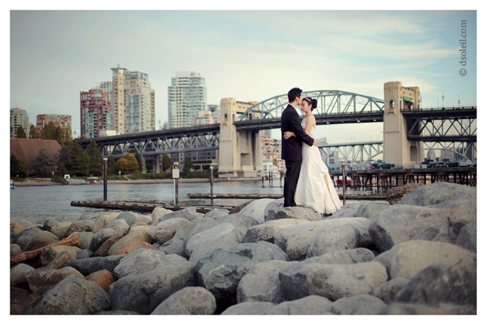 Vancouver downtown wedding | Vancouver Wedding Photography