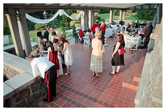 Cecil Green patio