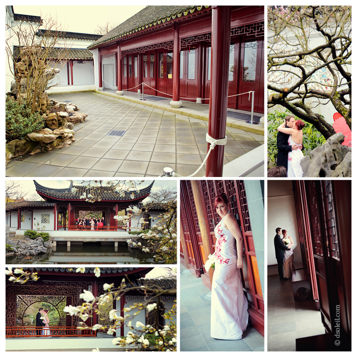 Dr. Sun Yat Sen Garden wedding venue in Vancouver