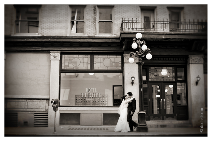 Vancouver wedding photos | Gastown
