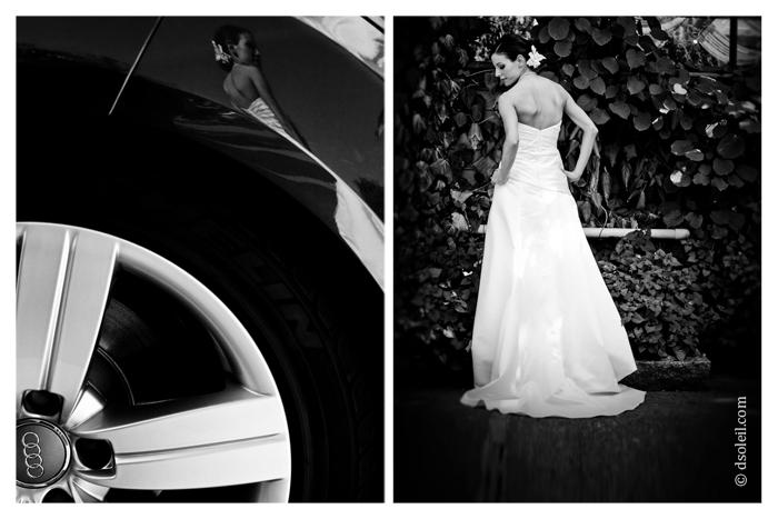 Vancouver wedding | Van Dusen Garden