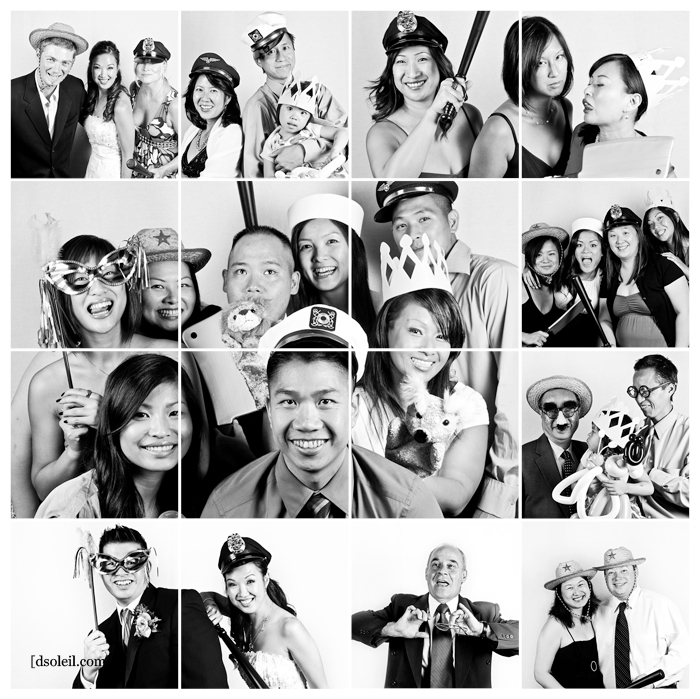 Vancouver wedding photo booth