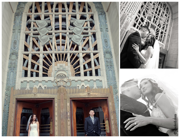 Vancouver Marine Building wedding photo