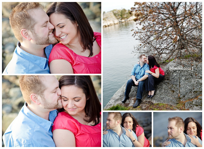 West Vancouver engagement photo session