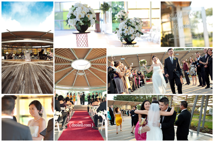 Celebration Pavilion wedding photo