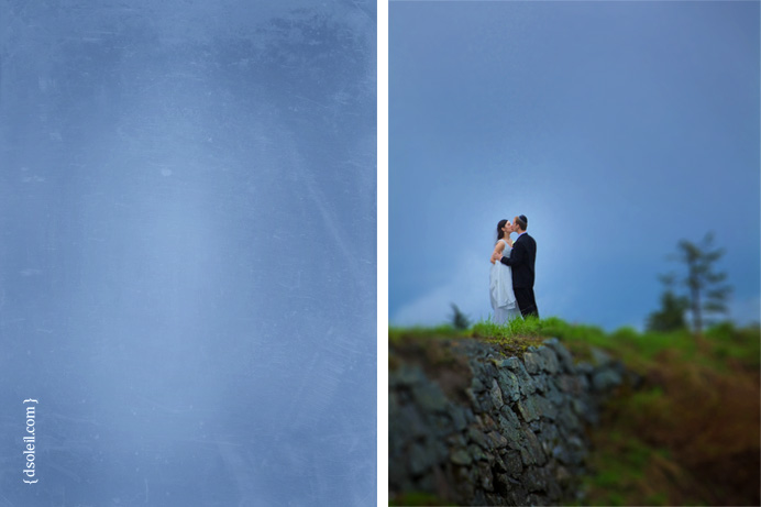 Grouse Mountain wedding in May