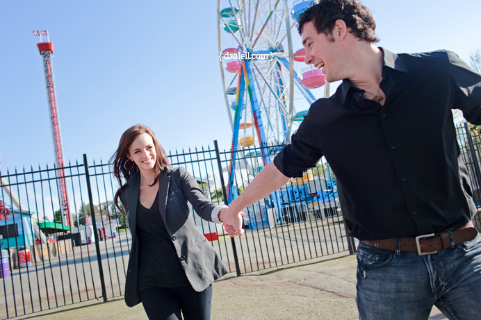 E-session at Playland Vancouver