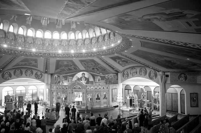 St Georges Orthodox Church wedding  in Vancouver