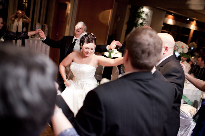 Dancing at Shaughnessy Golf Course wedding