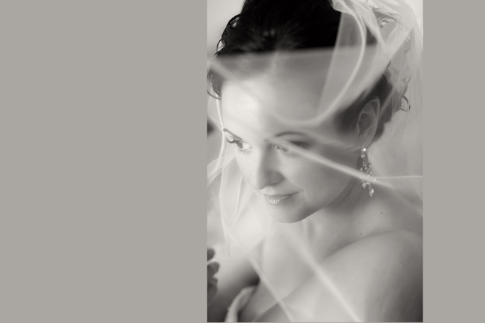 Bride portrait | Greek wedding at Shaughnessy Golf & Country Club
