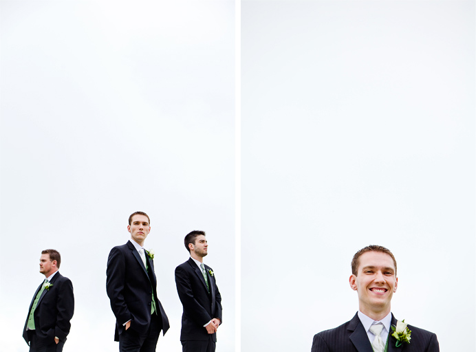 Steve and his groomsmen at Grouse Mountain before the wedding