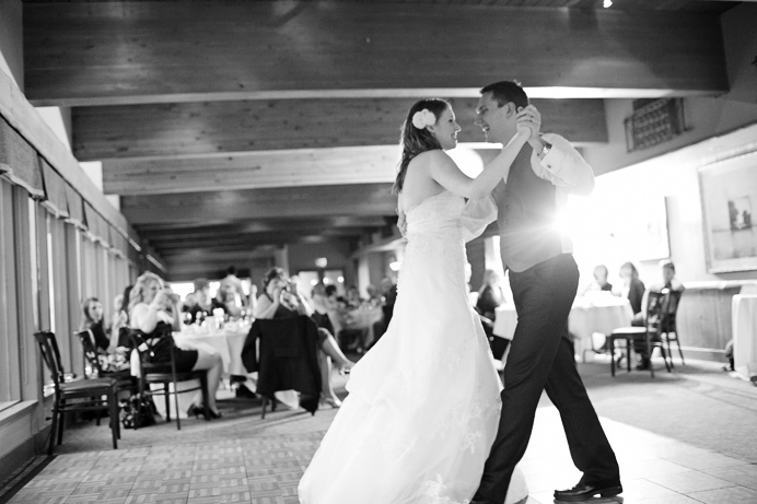First dance in the Timber room, Grouse Mountain