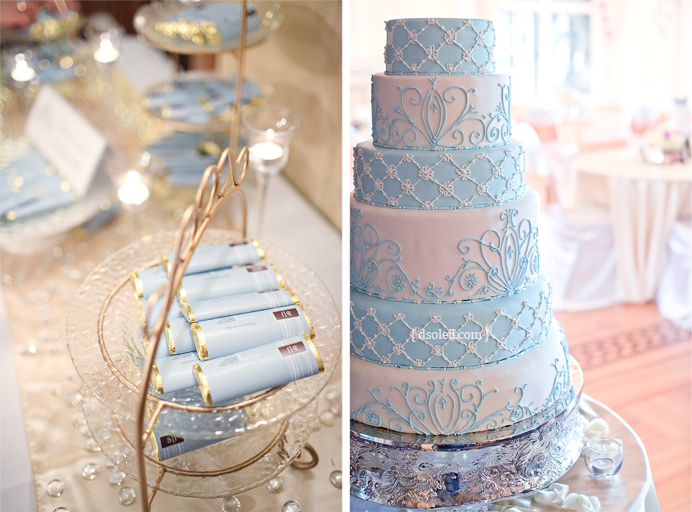 The wedding cake and more wedding decorations