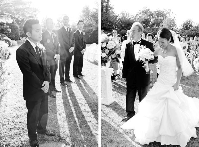 Cecil Green wedding ceremony
