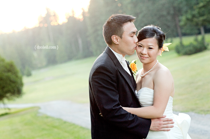 UBC Golf Club wedding photos