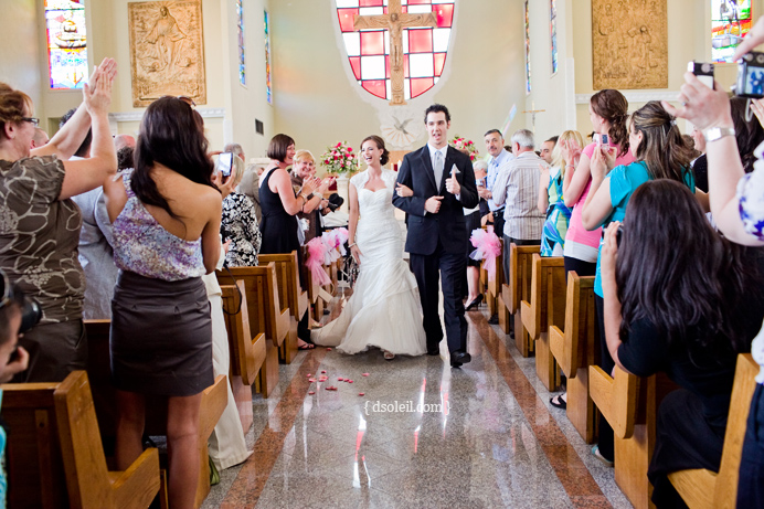 Recessional at the Immaculate Heart of Mary Parish in East Vancouver