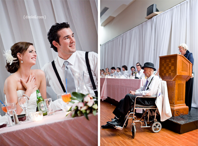 Wedding speeches at the Croatian Cultural Centre