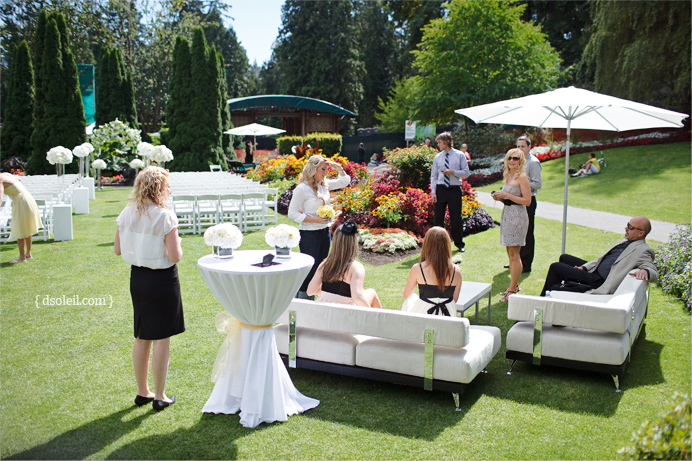 Stanley Park Pavilion outdoor wedding