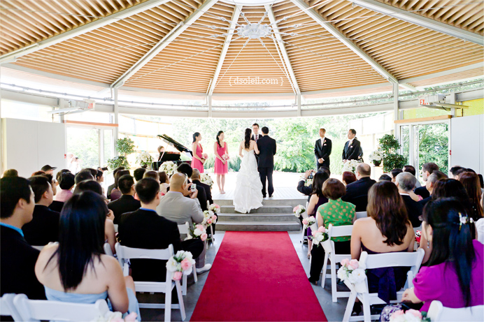 Celebration Pavilion wedding venue at Queen Elizabeth Park