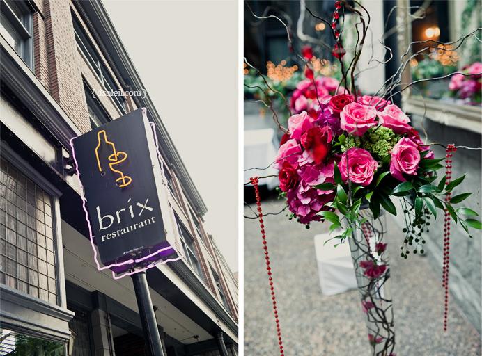 Brix Restaurant Wedding