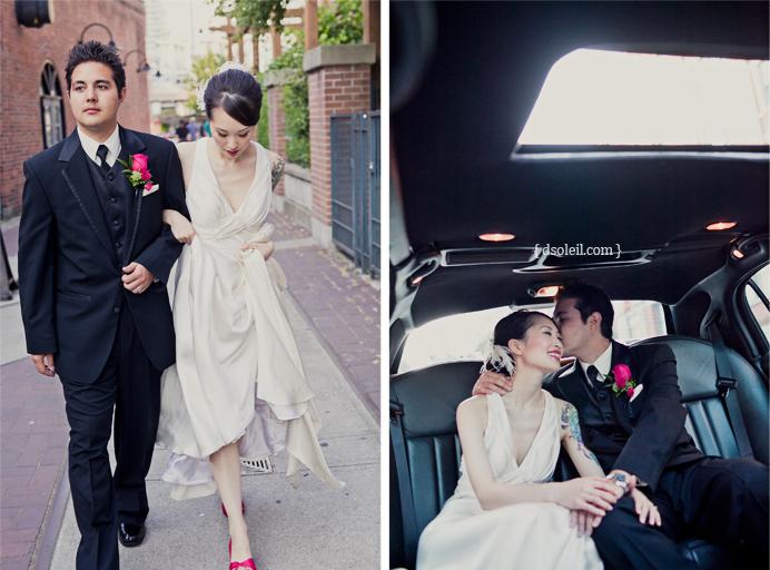Roundhouse wedding photos