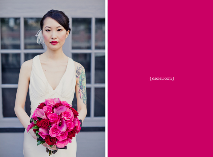 Brix Restaurant wedding in Yaletown