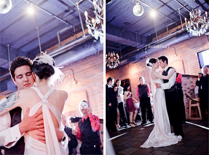First dance at Brix wedding