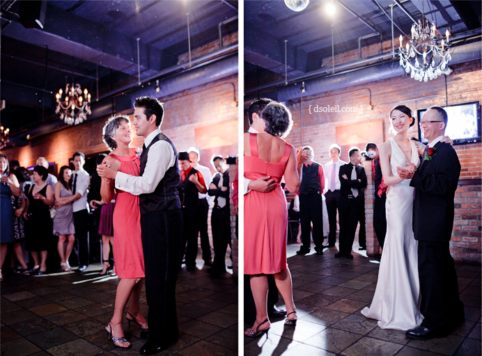 Dancing at Brix Restaurant