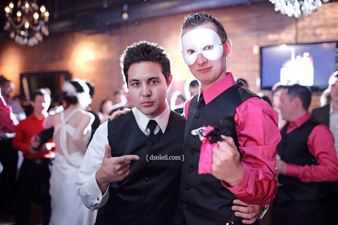 Phantom of the Opera wedding at Brix