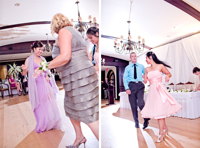 Capliano Golf & Country Club Wedding dancing