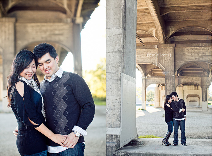 Engagement session photo in Vancouver