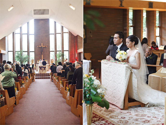 Parish of Saint Michael the Archangel Church - Vancouver wedding photos