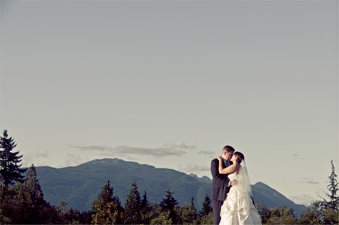 Wedding at Burnaby Mountain