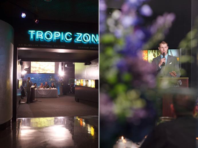 Vancouver Aquarium wedding photos