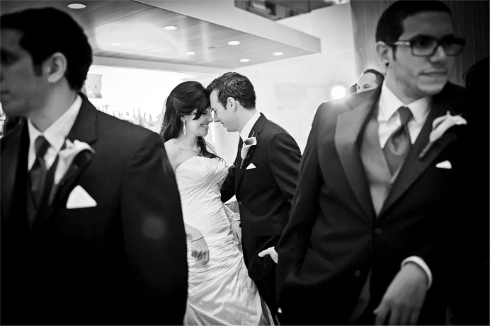 Fairmont Pacific Rim Hotel wedding photo