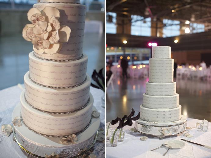 vancouver wedding cake