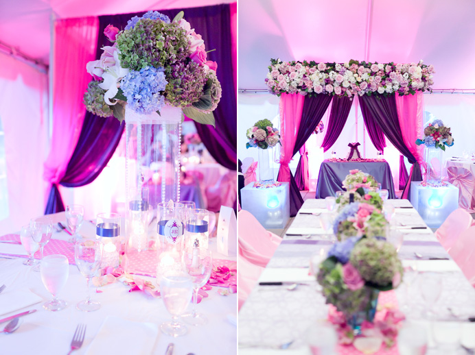 Beautiful wedding decor by CC Roa Designs from Vancouver