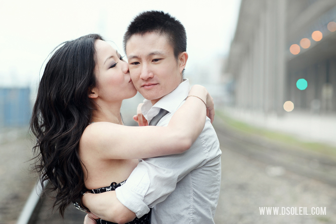 Engagement session in New Westminster, BC