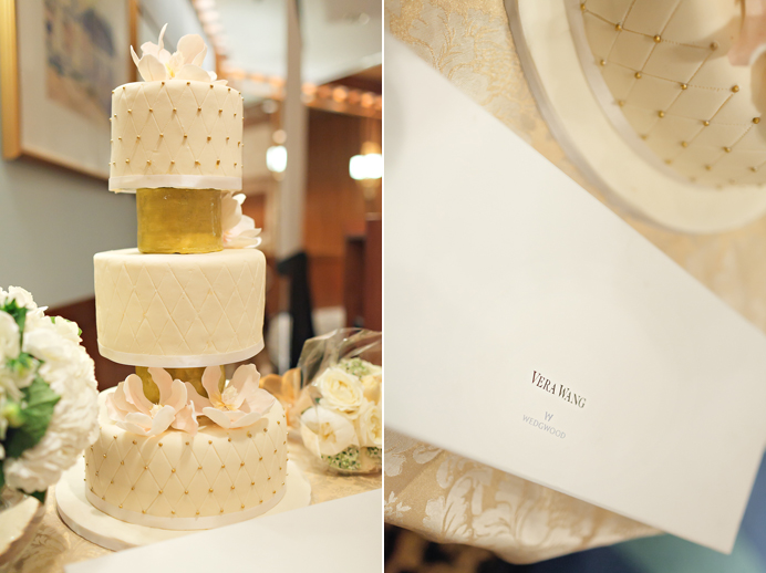Four Seasons Hotel wedding cake