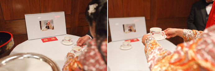 Tea ceremony at the Four Seasons Hotel