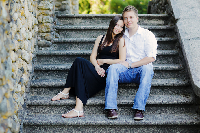 Deer Lake engagement session in Burnaby