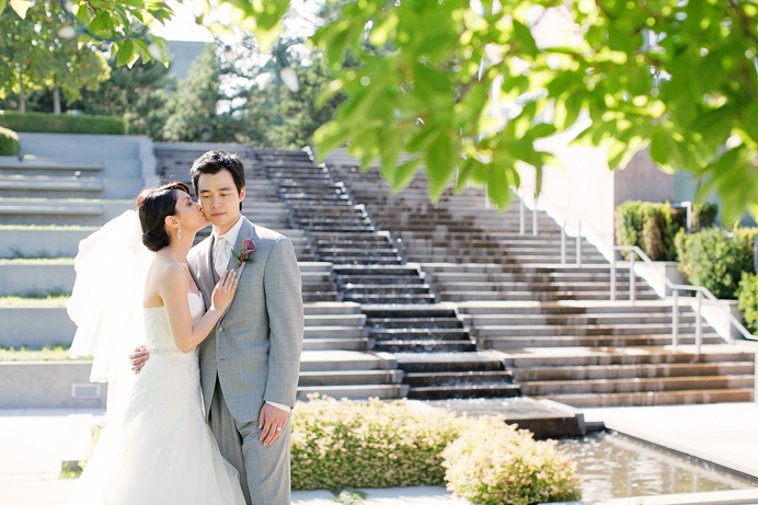 Shaing Garden wedding in Richmond, BC