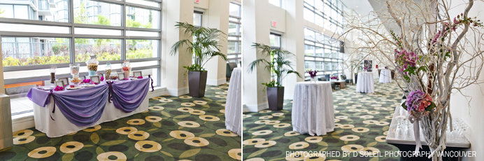 Westin Wall Centre wedding and events decor