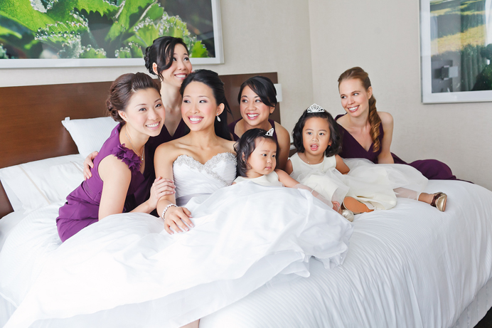 Bridesmaids at the Westin