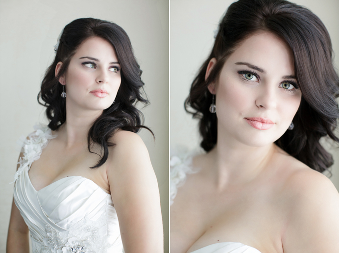 Bridal portraits at the Westin Wall Centre Airport in Richmond