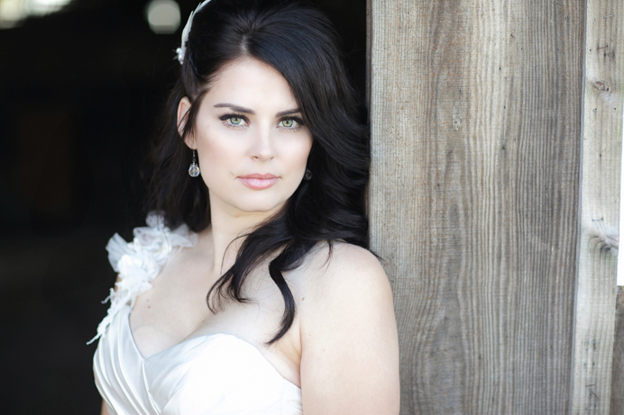 Bride photo in Steveston, Richmond