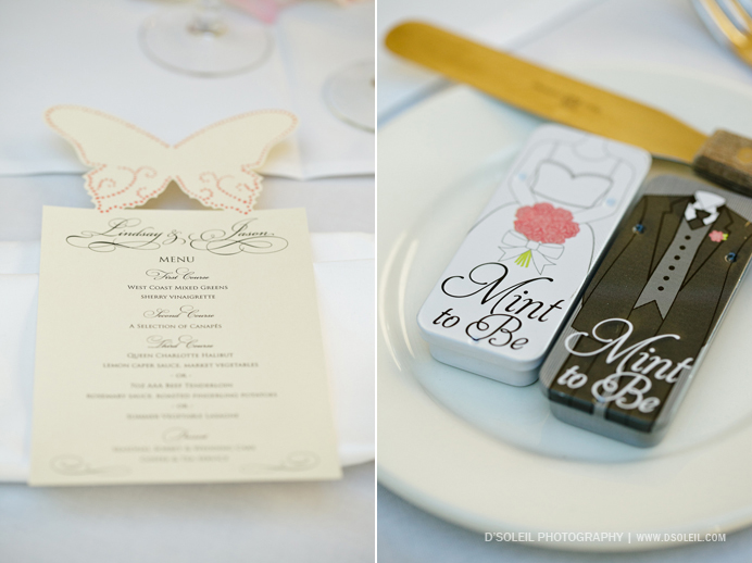 Stanley Park Teahouse wedding reception