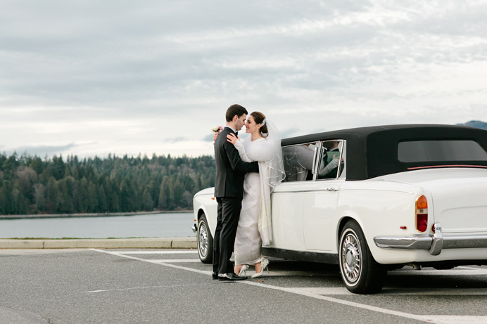 White rolls royce limo rental Vancouver